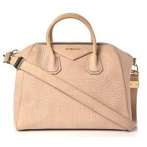 Givenchy Antigona Medium Croc Embossed Duffle bag